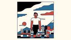 Music video for Dan Croll - TOKYO. Animation: Pascale Bories and Simon Landrein