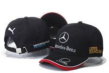 Embroidered Mercedes² Benz² Logo AMG Cap Sport Snapback Hat outdoor Adjustable Y