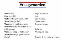 Dutch: vraagwoorden