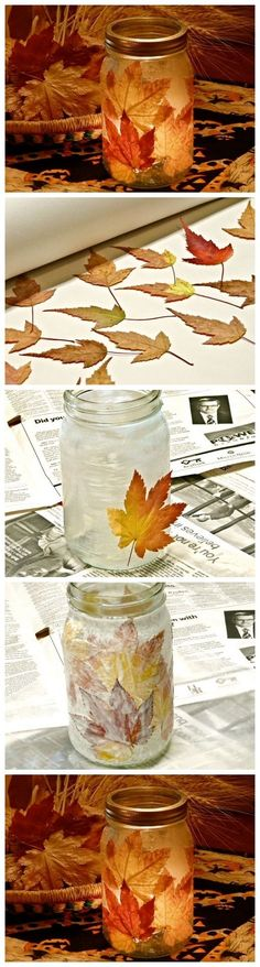 Fall Leaf Candle Pictures, Photos, and Images for Facebook, Tumblr, Pinterest, and Twitter