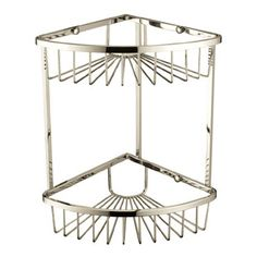 COMP C Fast DPD tracked delivery. Bristan Two Tier Corner Fixed Wire Basket Shower Tidy now on sale at Ergonomic Designs. Color Chrome, Brass Color, Traditional Bathroom, Traditional Design, Heritage Bathroom, Hanging Shower Caddy, Bathroom Dimensions, Standing Shower, Shower Basket