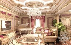 Living Room Design in Dubai, Living Room Design Abu Dhabi, Photo 2