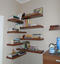 My new super cool bookshelves