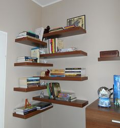 My new super cool bookshelves