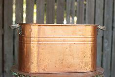 Copper Basin - Beverage Tub