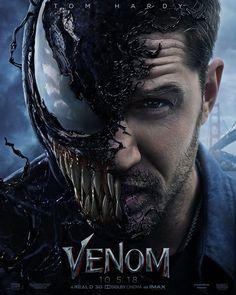 Venom - Embrace your inner anti-hero. New Venom poster with Tom Hardy Film Venom, Free Movie Downloads, Full Movies Download, Hd Movies Online, 2018 Movies, Upcoming Movies 2018, Peliculas Online Hd, Venom 2018, Films Hd