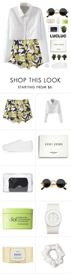 """heartache #5"" by ruthaudreyk ❤ liked on Polyvore featuring WithChic, Topshop, Bobbi Brown Cosmetics, 3.1 Phillip Lim, Rodial, The Unbranded Brand, philosophy, American Apparel and lucluc"