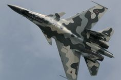 """Russian Air Force Sukhoi """"Flanker-C"""" Sukhoi Su 30, Air Fighter, Fighter Jets, Russian Military Aircraft, Russian Fighter, Fixed Wing Aircraft, Russian Air Force, Military Jets, Aircraft Design"""