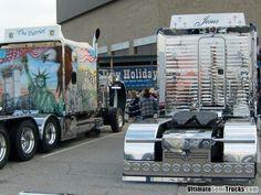 Custom semi trucks from the 2008 Mid America Truck Show