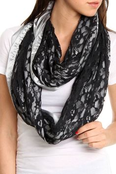 Lace Scarf by corinne