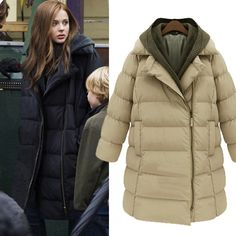 >> Click to Buy << 2015 Winter thickening women parkas women's wadded jacket outerwear fashion cotton-padded jacket medium-long #Affiliate