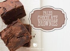 At last - my recipe for gluten-free, sugar-free, dairy-free Chocolate Brownies. Brownie Recipes, My Recipes, Healthy Recipes, Healthy Food, Recipies, Paleo Chocolate Brownies, Dairy Free Chocolate, Sugar Free, Meals