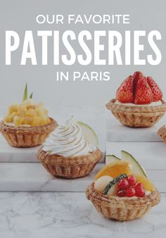 While Mayson Kayser and Ladurée may have made their way Stateside, it's still worth heading to the French capital for its famous fresh-baked goods.