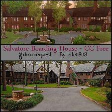 Salvatore Boarding House - CC Free