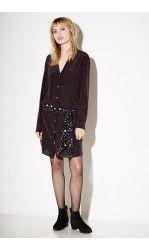 Equipment FR ROSALIND DRESS polka dot star Kate-Moss
