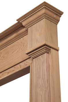 trim details for Fallon master bath above the vanities Door Molding, Moldings And Trim, Moulding, Crown Moldings, Wooden Main Door Design, Front Door Design, Cornice Design, Fireplace Mantel Surrounds, Pillar Design
