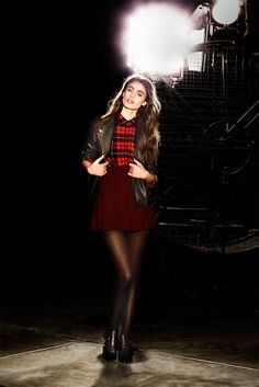 Taylor Marie Hill pictures and photos Taylor Marie Hill, Forever 21, I Dress, Tartan, Fashion Models, Women's Fashion, Autumn Fashion, Glamour, Street Style