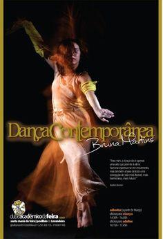 Dança Contemporânea c/ Bruna Martins  academicodafeira.com