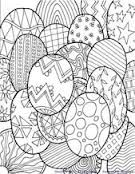OODLES of DOODLES: Color some Eggs