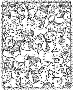 Bonhommes de neige                                                       …                                                                                                                                                                                 Plus