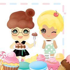 스윗한 요정 팅글리코코&체리 상큼한 주말 맞으세요 TingGlees, sweet fairiescoco&cherry Have a fresh weekend . #tingglees #tingglee #sweet #fairy #sweets #character #desgin #chocolate #macaroons #coffee #candy #cupcake #팅글리 #스윗한요정 #마카롱 #달달 #캐릭터 #초코 #커피 #케이크스타그램 #달콤한 #디자인