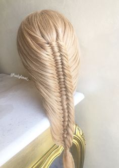 Three strand fishtail braid                                                                                                                                                                                 More