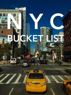 NYC Bucket List // Brittany from Boston