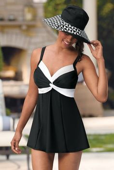 8713a6cf086 5 Super Flattering Plus Size Bathing Suits for Women Over 40 - Over ...