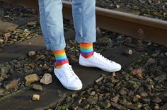 Tęcza 15 Year Old Boy, Rainbow Socks, 100 Fun, Funny Socks, Patterned Socks, Colorful Socks, Designer Socks, Cotton Socks, Boy Or Girl