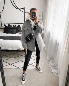 Cozy Winter Outfits, Winter Fashion Outfits, Look Fashion, Fall Outfits, Autumn Fashion, Cold Winter Fashion, Cosy Outfits, Uni Outfits, Fashion Clothes