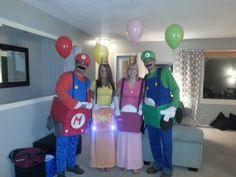 Mario Kart Halloween.  Best Halloween costume.