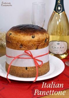 The classic Italian Christmas treat, Panettone, brings cake and bread together, and this easy recipe creates the perfect holiday loaf. | www.curiouscuisiniere.com