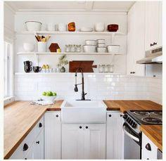 Countertops: Get Over Granite - Butcher Block countertop