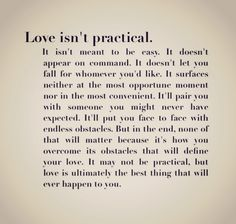 Top 30 love quotes with pictures. Inspirational quotes about love which might inspire you on relationship. Cute love quotes for him/her Cute Quotes, Great Quotes, Quotes To Live By, Funny Quotes, Inspirational Quotes, Movie Quotes, The Words, Romance, Youre My Person