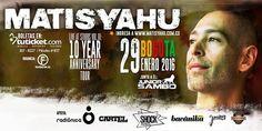 Matisyahu en concierto, Bogotá. Matthew Paul Miller nació en West Chester (Pensilvania, Estados Unidos) el 30 de junio de 1979, que según el calendario j...
