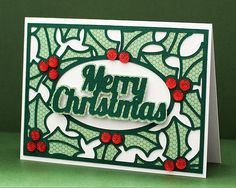 Holly Card Cover