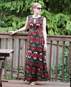 Me Made Maxi: Butterick Lisette 6168 | Sara in Stitches