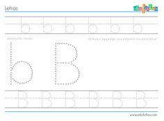 Fichas educativas para descargar con actividades para niños de 2 años. Actividades sencillas de iniciación a la escritura, grafomotricidad, coloreables...