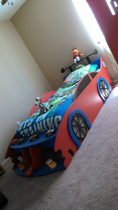 Home Made Car Bed