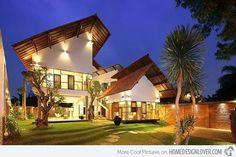 Sensational Tropical Distort House in Jakarta