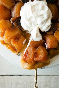 The Kitchy Kitchen's simple tarte tatin recipe