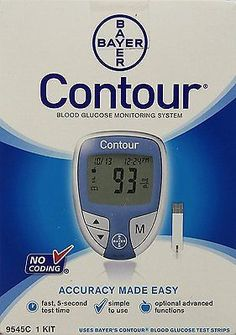 Bayer Contour Meters Kit NC NDC:00193-9545-01