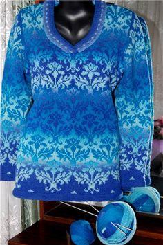 Fair Isle Knitting Patterns, Knitting Charts, Knit Patterns, Free Knitting, Fendi Scarf, Extreme Knitting, Christmas Knitting, Knitwear, Knit Crochet