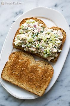 My parents started making tuna fish salad sandwiches this way years ago, and as far as I'm concerned theirs is the best and only way to make a tuna fish sandwich. First it helps to start with high ...