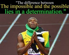 Usain Bolt Determination Inspirational Quote Codeblack Sports Motivation The idea of sport is a process Motivational Quotes For Athletes, Inspirational Quotes, Usain Bolt Quotes, Citations Sport, High School Quotes, Quote Of The Week, Sport Quotes, Sport Motivation, Motivation Quotes