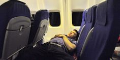 How to sleep well on a long flight