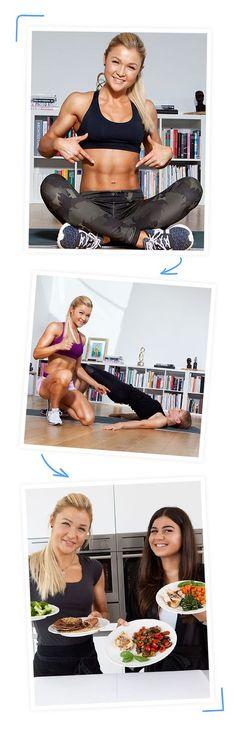 Sophia Thiel hilft dir auf dem Weg zum Traumbody. Du kannst das schaffen - mit effektivem Training, gesunder Ernährung und persönlichen Geheimtipps von Sophia.
