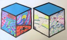 Cube Mural Inspired by Street Artist Thank YouX – Art is Basic | An Elementary Art Blog