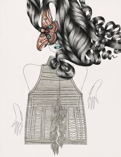 Tara Dougan | #Fashion #Illustrations   this looks so much like my style!