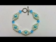 Easy jewelry making instructions to make your very own beautiful homemade bracelet. - YouTube